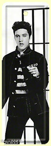 Nostalgic Art Elvis Presley Jailbreak  Nostalgic Lesezeichen Blechschild 15x5 *