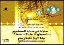 UAE 2010 ** Bl.54 Investitionsschutz Birds Vögel Falcon Falke