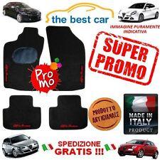 Tappetini auto Alfa Romeo 147, 156, 159, MITO, Giulietta con 4 scritte PROMO !!!