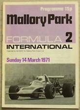 MALLORY PARK  14 Mar 1971 BARC FORMULA 2 INTERNATIONAL Official Programme