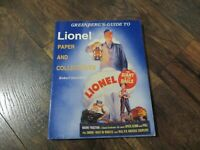 Greenberg's Guide To Lionel Paper And Collectibles by Robert Osterhoff