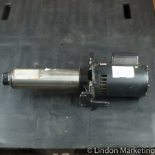 Dayton 5NXZ3 Multi-Stage Booster Pump, CI, 3/4 HP, 115/230V, new w/ dings