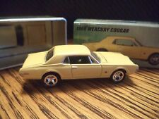 Johnny Lightning Muscle Cars 1968 Mercury Cougar Pro Collector w/ Tin #28 Fast