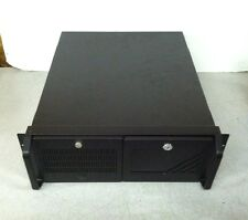 "Industrial Computers Inc. 4U 19"" Rack Mount Computer Case w/ DVD + Floppy"