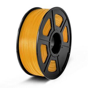 Silk PLA 3D Printer Filament 1.75mm 1KG 2.2 lbs Spool Roll 6 Colors