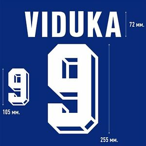 Viduka 9. FLOCK NAMESET NAME SET PRINT