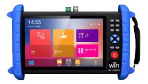 Portable 7 Inch CCTV Tester-Support up to 6K IP Camera Test- AHD, TVI, CVI & CVB