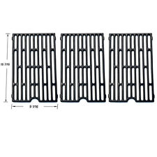Universal Gas Grill Grate Porcelain Coated Cast Iron Cooking Grid JGX271-3pack