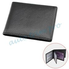 Leather ID Card Holder Bag Car Driving license Credit Case Auto Accessories