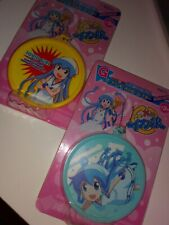 Taito Squid Girl round key chains x2 BN japanese