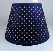 Country Primitive Americana Stars Star Navy Fabric Lampshade Lamp Shade