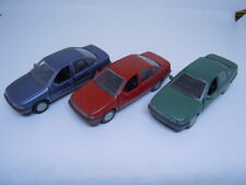 3 rare Opel Vectra A para trasera escalonada modelos de gama/mab en 1:43 OVP nuevo 2