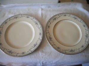 2 BELLEMEADE Dinner Plates by Minton