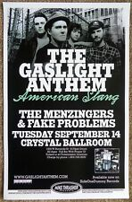 GASLIGHT ANTHEM 2010 Gig POSTER Portland Oregon Concert