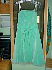 Kleid Abendkleid Ballkleid Gr.36 S Mint Tüllrock Brautkleid Standesamt Hochzeit