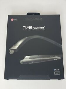 LG TONE PLATINUM HBS-1100 Wireless Stereo Headset - Black BRAND NEW