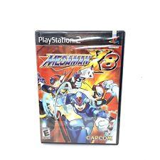 Mega Man X8 (Sony PlayStation 2 PS2, 2004) NIB Sealed w/ Y-Fold & Security Strip