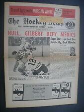 The Hockey News November 26, 1966 Vol.20 No.7 Bob Rousseau Bobby Hull Nov '66