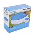 NEW Summer Waves Adjustable Pool Cover for 10-15ft Inflatable & Frame Pools fast