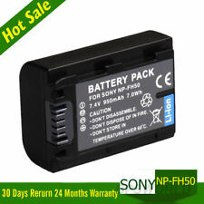NP-FH50 NP-FH40 NP-F60 NP-FH70 FH100 Battery For Sony TG1 ALPHA A290 A390 UK
