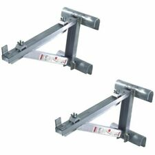 "Werner 14"" Aluminum Ladder Jacks AC10-14-02"