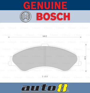 Bosch Front Brake Pads for Ford Falcon / Fairmont  AU III 4L LPG S 2001 - 2002