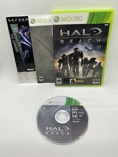 Halo: Reach w/ DLC And 48-hour Xbox Live Trial (Microsoft Xbox 360, 2010) VG CIB