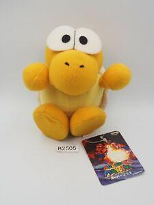 "Rare Super Mario Nintendo 64 B2505 Koopa Troopa Banpresto 1996 Plush 6"" Toy Doll"