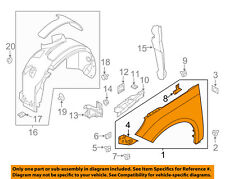FORD OEM 12-16 Focus-Front Fender Left BM5Z16006A