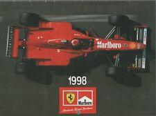 SCUDERIA FERRARI MALBORO CALENDAR 1998