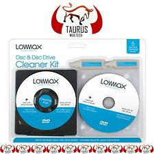 Lens Cleaner Laser Cleaning Kit PS3 XBOX 360 BLU RAY DVD PLAYER CD DISC PC UK. n