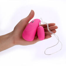 Silicone Vibrating Love Egg Remote Wired Control 12 Speed Vaginal Massager