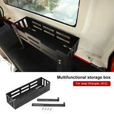 Tail Cargo Storage Trunk Box Organizer Bracket For Jeep Wrangler JK JL 2007-2019