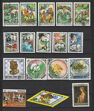 Mongolie 22 timbres oblitérés / T1437