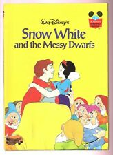 Disney's Wonderful World of Reading Book ~ SNOW WHITE AND THE MESSY DWARFS