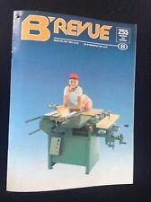 Tres rare revue SNCB trains Belgique avec article post Décès Hergé 1983