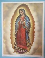 Catholic Print Picture Large VIRGIN MARY GUADALUPE