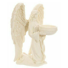 Puckator ANGP10 Candle Holder Kneeling Angel Resin Cream 15 x 12 x 18 cm