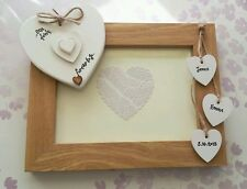 CHIC personalised photo frame First Wedding Anniversary 1st gift paper present ♡