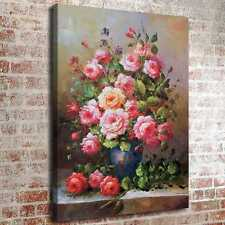 """24""""x32""""Beautiful Flowers HD Canvas prints Painting Home decor Picture Wall art"""