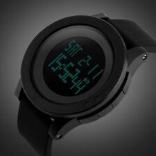 SKMEI 1142 Men Sport LED Digital Watch 50M Water Resistance Running Wristwatch