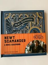 NEW Fantastic Beasts and Where to Find Them: Newt Scamander: A Movie Scrapbook