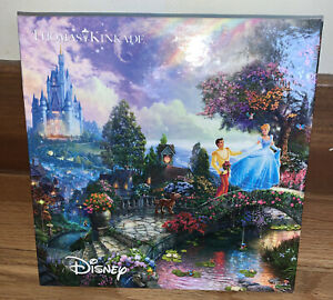 Thomas Kinkade Cinderella Disney 750 Piece Jigsaw Puzzle Sealed Pieces New
