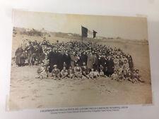RIPRODUZIONE FOTO ALINARI CELEBRAZIONE FESTA DEL LAVORO NAPOLI 12X18 1925-30 (4)