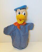 Vintage Toys Disney 1950s Donald Duck Hand Puppet by Gund - Retro Disneyana