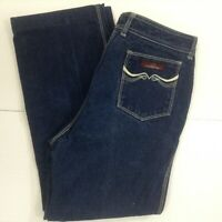 Vintage Womens Jordache High Rise Mom Jeans Sz 36 High Waisted 80s Horse Blue