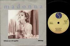 """Madonna Como Una Virgen 7"""" PS, B/W estancia, W9210"""