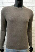 WOOLRICH Maglione Uomo Taglia M Cardigan Lana Pullover Maglia Felpa Sweater Man
