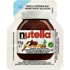 lot 120 Pâte à tartiner aux noisettes et au cacao 15 g nutella