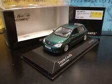 1/43 Minichamps Toyota Corolla 2001 400166170 1-1344 verde vert green grun
